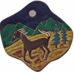 """Mara Dinner Plate 12"""" - Horse"""
