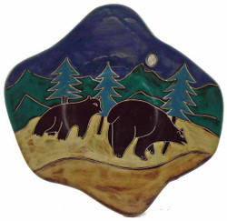 "Mara Dinner Plate 12"" - Bear"