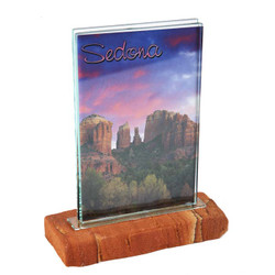 Sandstone Base Picture Frame - Portrait