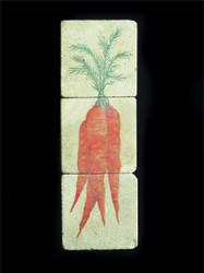 Carrot Ristra 3-Piece Deco Tiles