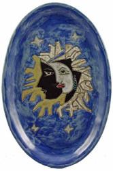"Mara Oval Serving Platter 16"" - Celestial"
