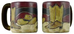 Mara Mug 16oz - Boots / Hat
