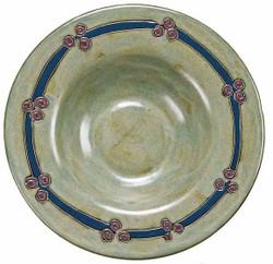 "Mara PASTA Plate 12"" - Antique Green"