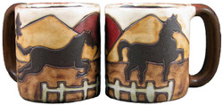 Mara Mug 16oz - Equestrian