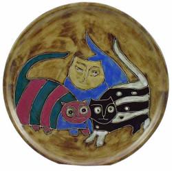 "Mara Platter 12"" - Cats"
