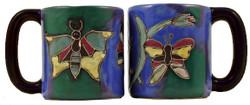 Mara Mug 16oz - Butterflies