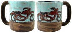 Mara Mug 16oz - Motorcycle