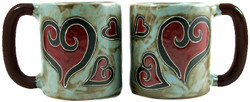 Mara Mug 16oz - Hearts