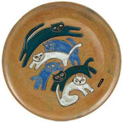 """Mara Platter 12"""" - Kitties"""