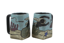 Mara Square Mug 12oz - Mermaid