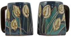 Mara Square Mug 12oz - Lillies