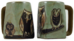 Mara Square Mug 12oz - Owls