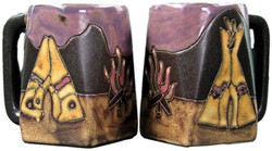 Mara Square Mug 12oz - TeePee/Camp Fire
