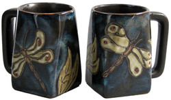 Mara Square Mug 12oz - Dragonfly