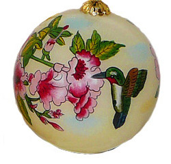 "Hummingbirds - 3"" Ornament Set of 2"