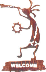 Kokopelli Welcome