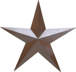 Metal Star - Small (3-Dimensional)