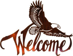 Winged Eagle Welcome