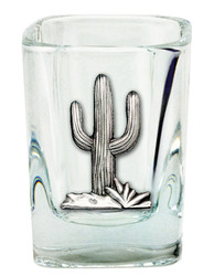 Southwest Square Shot Glass