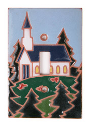 Church on the Mountains Switch Plate Cover