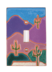 Cactus Mountainside Switch Plate Cover