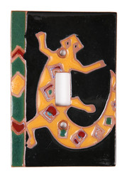Aztec Gecko Switch Plate Cover