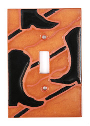 Cowboy Boots Switch Plate Cover