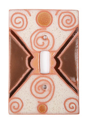 Swirl Pattern Switch Plate Cover