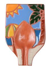 Beach Scene Spoon Rest