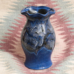 Stormy Skies Small Vase