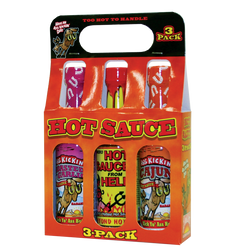 Ass Kickin' Hot Sauce 3 Pack
