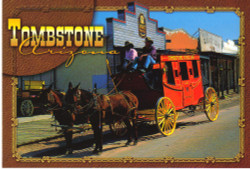 Tombstone Stagecoach Postcard - Pack of 100