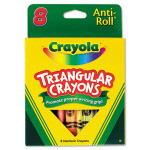 Anti-Roll Crayons