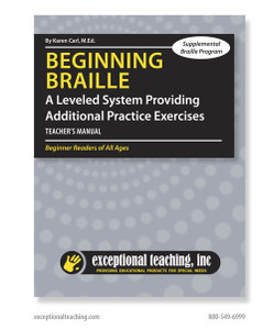 Beginning Braille Supplemental Program
