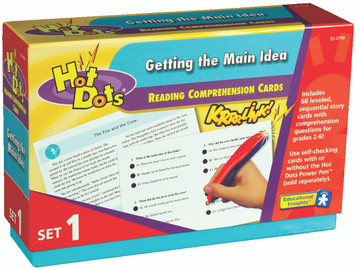 Hot Dots™ Reading Comprehension Boxes