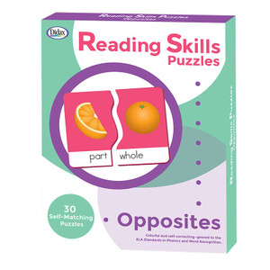 Reading Skills Puzzles - Opposites