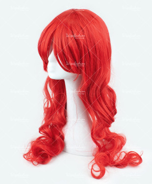 Red Long Wavy 70cm