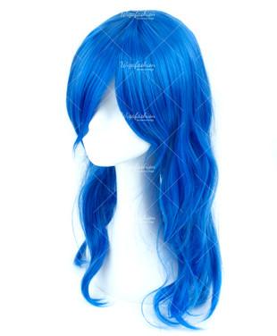 Blue Long Curl 60cm