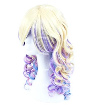 Pastel Rainbow Curly 55cm