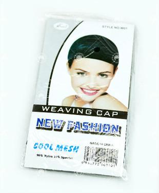 Elastic Mesh Wig Cap - Black