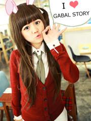 Premium Wig Nippon Syagi RongRong (Brown)