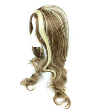 Two Tone Light Brown/Blonde Long Wavy 60cm