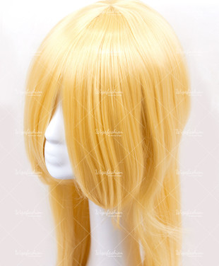 Golden Yellow Long Straight 90cm