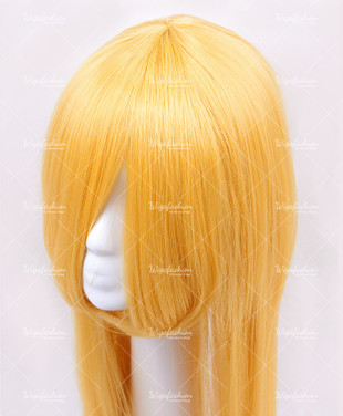 Amber Yellow Long Straight 100cm