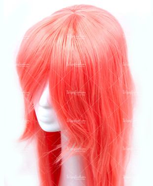 Rosy Pink Long Straight 95cm
