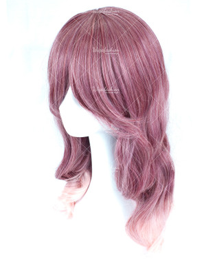 Red Wine White Medium Wavy 50cm