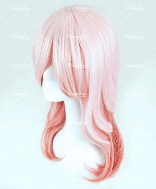 Pink Long Wavy 55cm
