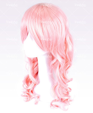 Pink Long Wavy 60cm