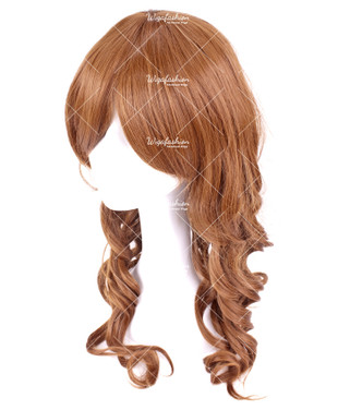 Rust Brown Long Wavy 60cm