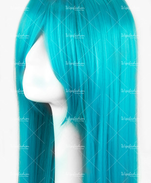 Cyan Long Straight 90cm